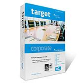 Target Corporate 4-fach gelocht Speedbox, DIN A4, 80g/m², weiß