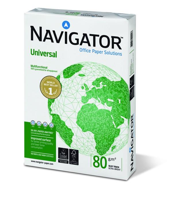 Navigator Universal , DIN A4, 80g/m², weiß