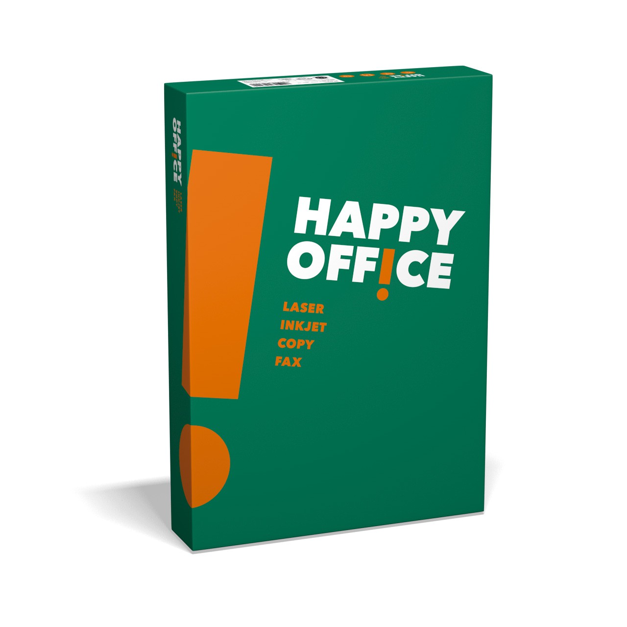 Happy Office Happy Office, DIN A4, 80 g/m², weiß