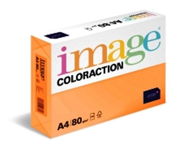 Coloraction dunkelfarbig (altgold, ziegelrot, lavendel, fliederblau), DIN A4, 80g/m²
