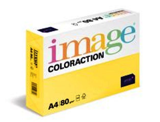 Coloraction hellfarbig (elfenbein, gelb, creme, zitronengelb, salm, hellrosa, rosa, hellbalu, eisblau, hellgrün, grün, grau), DIN A4, 80g/m²